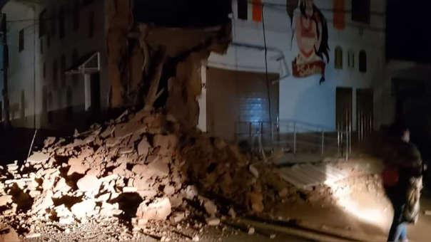El movimiento de 7.5 de esta madrugada generó derrumbes en la zona de Yurimaguas.