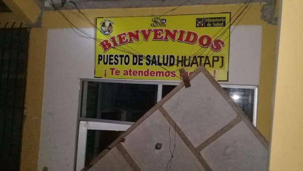 Puesto de Salud de Huatapi