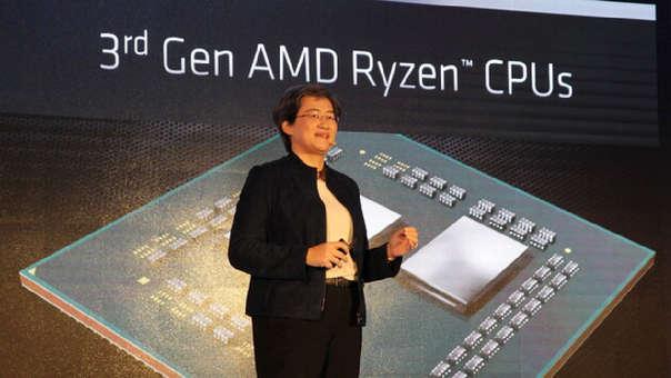 Lisa Su, presenta la nueva generación de sus procesadores de escritorio Ryzen 3000 series