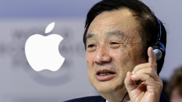 Ren Zhengfei, fundador de Huawei, está en contra de un posible boicot contra Apple