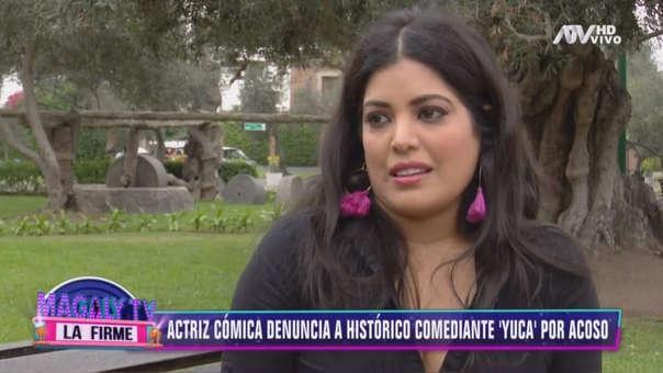 Clara Seminara se quebró al narrar el episodio que le tocó vivir junto al cómico Enrique Espejo 'Yuca'.
