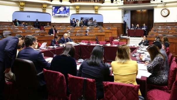 Declaración de Pedro Chávarry ante la Comisión Permanente del Congreso
