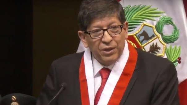 El magistrado llegó a Trujillo para cumplir una serie de diligencias.