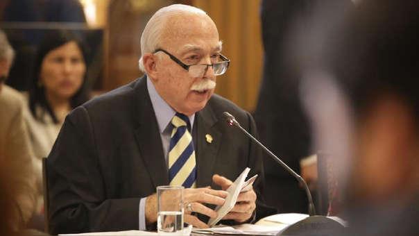El vocero de Fuerza Popular aseguró, previamente, que los fujimoristas no blindan a Pedro Chávarry, si no que actúan de acuerdo a su conciencia.