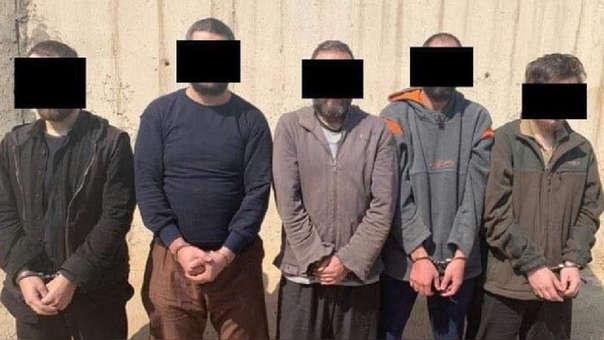 Los yihadistas franceses detenidos en Irak