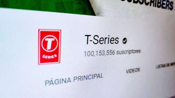 T-Series se convierte en el primer canal de YouTube en conseguir 100 millones de suscriptores