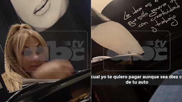 Video grabado por  el periodista y difundido como parte de su denuncia