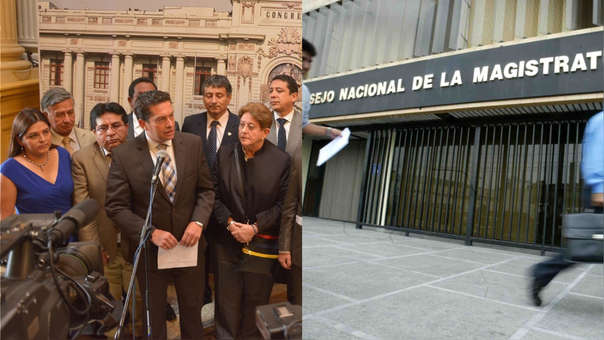 Los ex consejeros del CNM  Iván Noguera, Guido Aguila  y Julio Gutiérrez Pebe son investigados por el Ministerio Público.