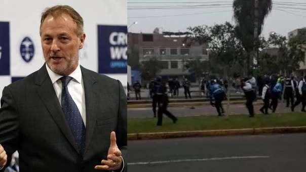 El alcalde de Lima hizo un llamado a la calma.