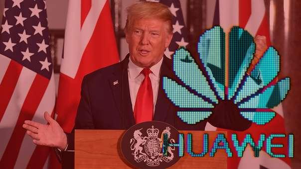 Donald Trump realiza una visita a Reino Unido.