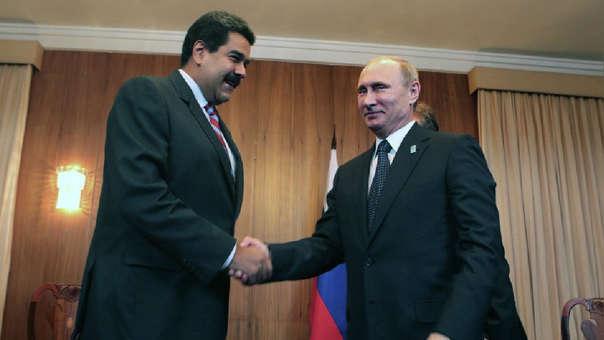 RUSIA VENEZUELA EE.UU.