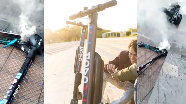 MOVO es una empresa que alquila scooters para desplazamiento en Miraflores, Barranco y San Isidro