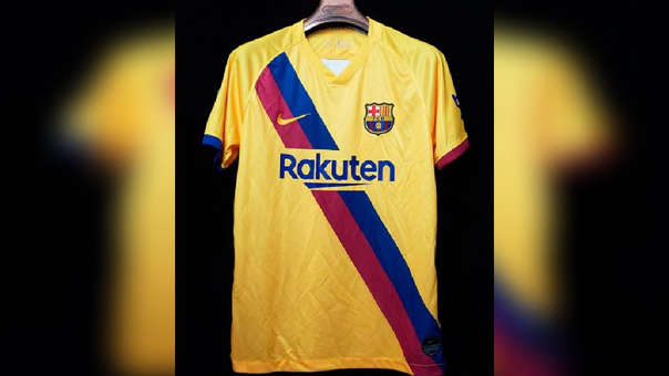 Barcelona: conoce su camiseta alterna para la temporada 2019-20