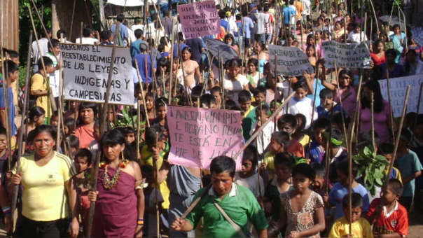 Las protestas en Utcubamba iniciaron en abril de 2009 y se extendieron hasta el 5 de junio.