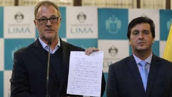 El alcalde de Independencia brindó detalles sobre la reunión que mantuvo con sus pares de San Martín de Porres y Lima.