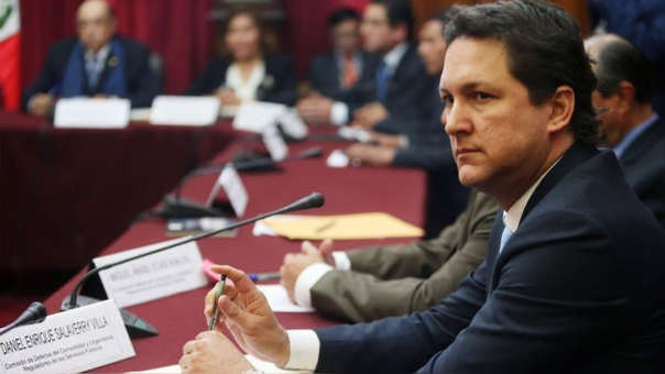 Daniel Salaverry respondió sobre la acción de amparo que presentó ante la Corte Superior.