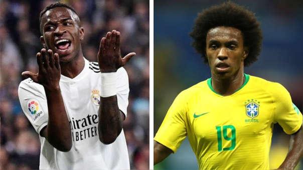 05b24b35c ¿Por qué Willian sí y Vinicius no? Los motivos por los cuales Tité optó por  el jugador del Chelsea