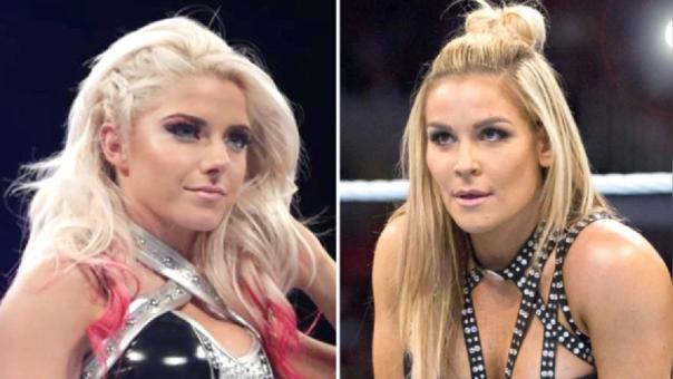 Alexa Bliss y Natalya