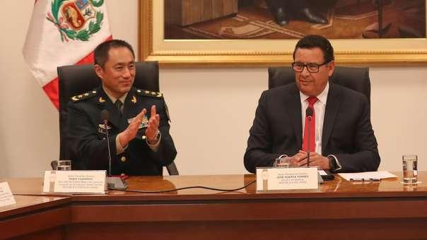 El documento fue firmado en el cuartel general del Ejército, ubicado en el distrito de San Borja.