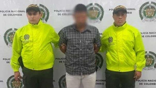 El hombre fue capturado como principal sospechoso del crimen.