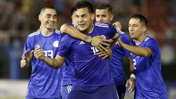 Resultado de imagen para gol de paraguay