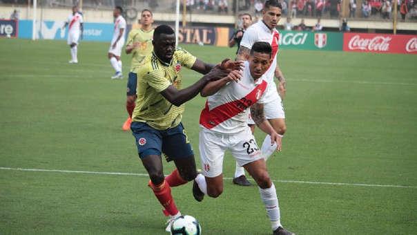 Perú 0-3 Colombia