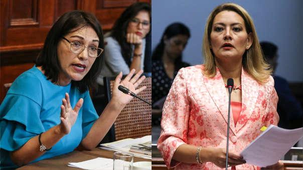 Milagros Salazar (izquierda) y Milagros Takayama (derecha) están involucradas en esta denuncia.