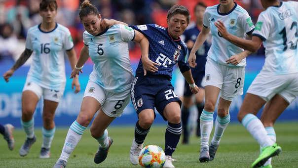 Argentina vs. Japón chocan en partido por el Mundial 2019