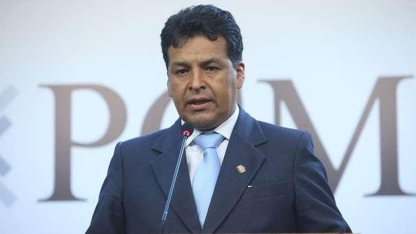 Edwin Licona, exgobernador regional de Cusco.