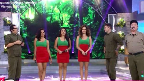 Tula Rodríguez volvió a vestirse como la 'Peludita'