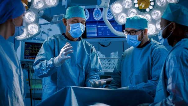 El hecho ocurrió durante una cirugía de disección aórtica,
