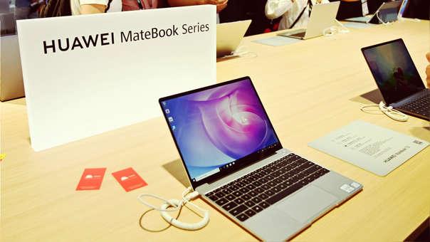 La serie MateBook se encuentra en duda por la guerra comercial entre EE.UU. y China.