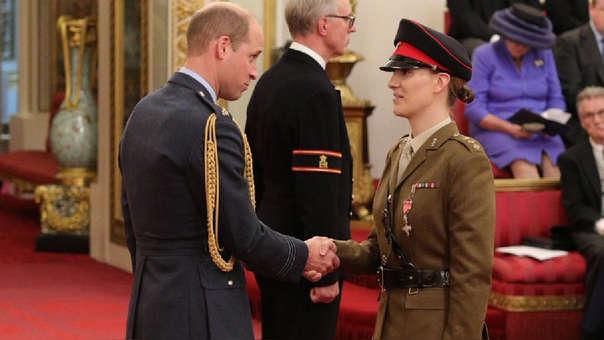 Hannah Graf se convirtió en la mujer transgénero de más alto rango en el ejército británico