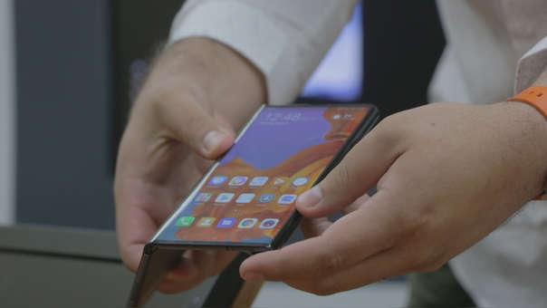 El Mate X también se ha visto afectado por el veto de EE.UU. a Huawei.