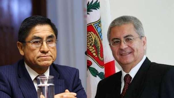 Audios comprometían al diplomático con el ex juez supremo.