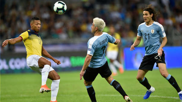 Resultado de imagen para uruguay vs ecuador