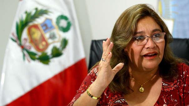 Janet Sánchez criticó la actitud de Salaverry.