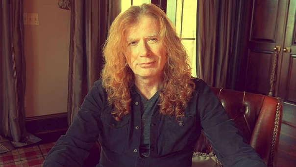 Dave Mustaine, vocalista de Megadeth, reveló que tiene cáncer de garganta.