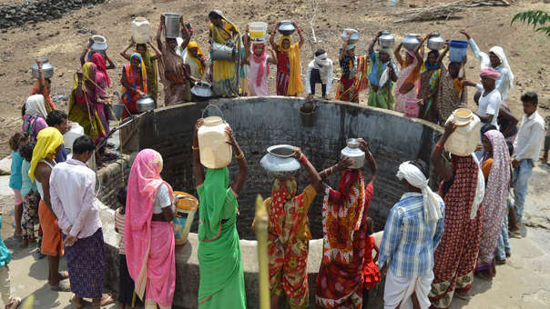 INDIA-ENVIRONMENT-DROUGHT-WATER