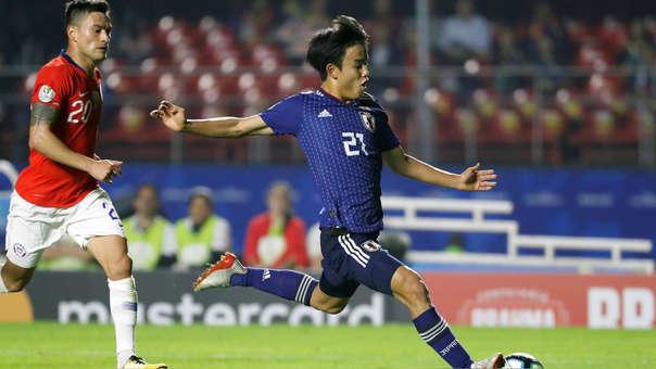 Chile vs. Japón