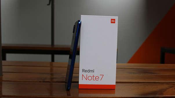 Este es el Redmi Note 7.