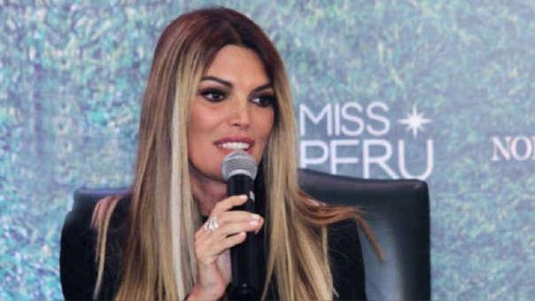 Mis Perú: Jessica Newton reveló la primera candidata para el certamen