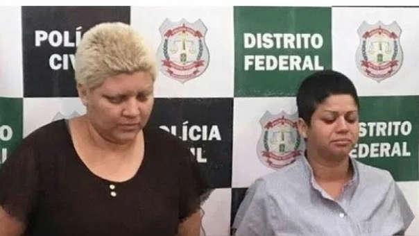 Rosana Cândido, de 27 años y Kacyla Pessoa, de 28 años, fueron las autoras del crimen.