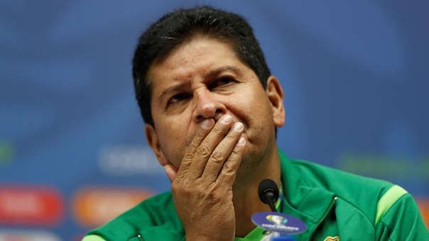 DT de Bolivia Eduardo Villegas