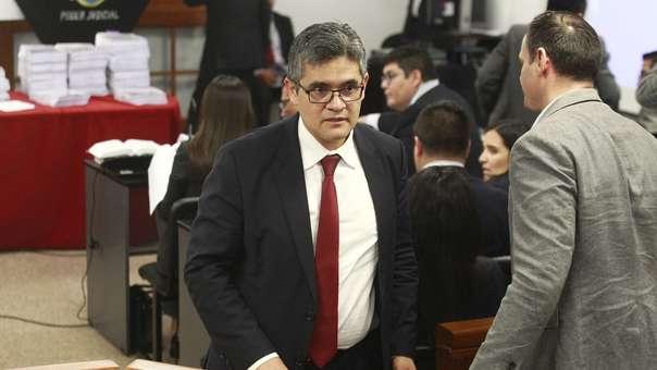 José Domingo Pérez, fiscal del Equipo Especial Lava Jato.