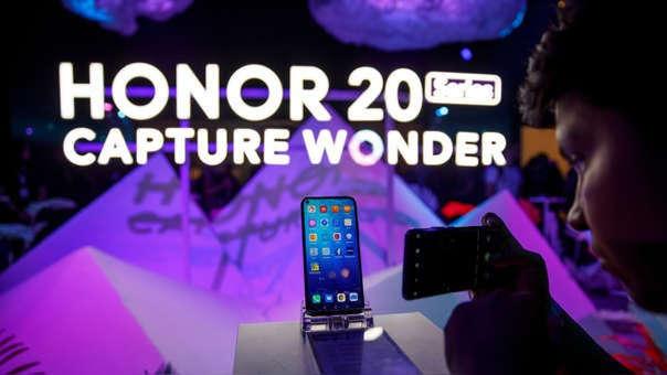 La nueva línea de Honor tiene tres modelos: Honor 20 Lite, Honor 20 y Honor Pro.