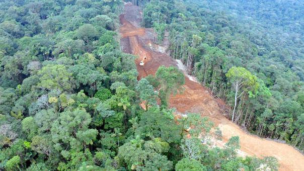 Carreteras en la Amazonía