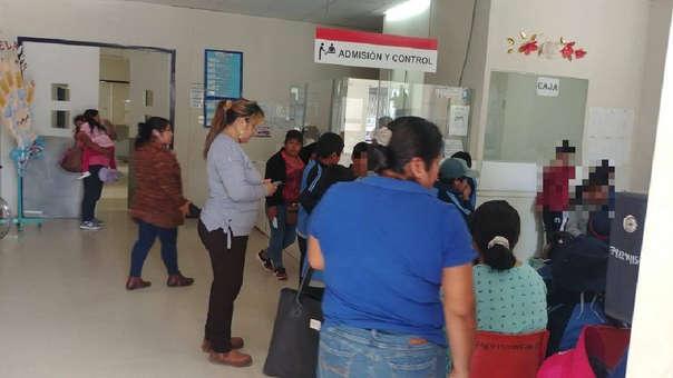 Los estudiantes del colegio Jesús de Nazaret fueron atentidos en el Hospital San Antonio.