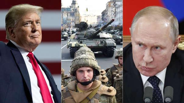 El Gobierno de Donald Trumpo continúa con el apoyo a Ucrania, que vive una especial tensión con la Rusia de Vladímir Putin desde hace 5 años.