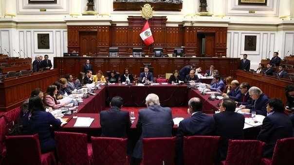Comisión del Congreso aprobó las causales de la cancelación de la inscripción de un partido político.